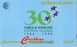 *CAYMAN ISLANDS: 94CCIC* - Scheda Usata - Isole Caiman