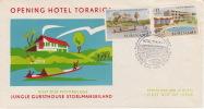 1962  Hotels FDC  Zonder Adres   E22 - Suriname ... - 1975
