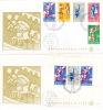 1969  Kinderzegels Mit Block  E70, E71  Zonder Adres - Suriname ... - 1975