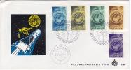 1969  Paaszegels  E66  FDC Zonder Adress - Suriname ... - 1975