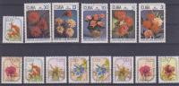 "LOTE DE SELLOS VARIOS  ""FLORES-FLOWERS""   CUBA   S-256 - Vegetales"