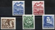 POLAND 1953 - Mi.809-813 Two Compl. Sets MNH (postfrisch) Perfect (all VF) - 1944-.... Repubblica