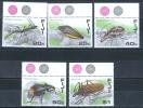 Fiji Islands  1987 Insects MNH** - Lot. 777 - Fiji (1970-...)