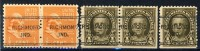 5 Different Very Old United States Precancels From Richmond, Indiana Pairs - United States
