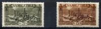 SAAR (Sarre) 1927 - Mi.120+121 (Yv.119+120) MH (charniere) VF - Nuevos