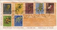 1961  Vruchten    FDC  Zonder Adres   Fruits, - Suriname ... - 1975