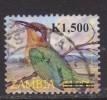 Zambia ~ 2009 ~ 1500k On 1800k Birds ~ Bee Eater ~ SG 1057 ~ Used - Birds