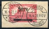 SAAR (Sarre) 1920 - Mi.17 I (Yv.19, Sc.17) On Strip (perfect) VF - Gebraucht