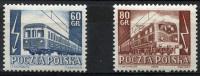 POLAND 1954 - Mi.837-838 MNH (postfrisch) Perfect (VF) - 1944-.... Repubblica