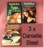 3 Danielle Steel Bücher - Gebundene Ausgaben - Glück Kennt Keine Jahreszeit , Träume Des Lebens - Livres, BD, Revues