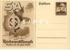 S.A.Reichswettkämpfe Berlin , 15-17 Juli 1938 -  Entier Postal TBE-  15x 10.5 Cm Non Circulé - Guerre 1939-45