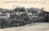 Cp , Militaria ,  La Grande Guerre 1914-1915 , AUZECOURT , La Pointe A été Détruite Par Les Barbares - Guerre 1914-18