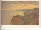 Claude Monet : Falaise Abrupte Près De Dieppe - Paintings