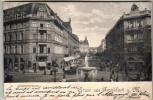 Germany \ Deutschland - Frankfurt, Kaiserstrasse - Postcard \ Postkarte 1899 - Frankfurt A. Main