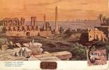 Egipto--El Cairo--1908--Obeliscos De  Karnak--Ballon--Cairo.-a,Lyon, Francia - El Cairo