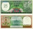 Suriname 25 Gulden 1985 P 127b *UNCIRCULATED - Surinam