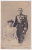[w1046] España Rey Alfonso XIII & Princesa Victoria Eugenia Tarjeta Postal - Royalty Of  Spain Vintage Postca - Familias Reales