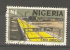 NIGERIA  - 1973 EKO BRIDGE N1 USED  SG 305 - Nigeria (1961-...)