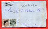 ESPAGNE LETTRE DE 1875 DE PALMA POUR BARCELONE - 1875-1882 Regno: Alfonso XII