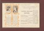 LIBRAIRIE HACHETTE 79 Bd SAINT GERMAIN PARIS - TARIF CARTE POSTALES ILLUSTREES - CHANTEURS CELEBRES - EDITION 1900 - Chanteurs & Musiciens