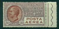 REGNO 1926-28 EFFIGIE 80 C. MNH**  BELLISSIMO - Poste Aérienne