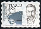 Tuvalu MNH Scott #591 50c King George V - Centenary Of British Annexation - Tuvalu