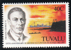 Tuvalu MNH Scott #590 40c King George VI - Centenary Of British Annexation - Tuvalu