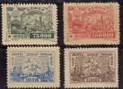 Russie 1923 N°Y.T. :  10,12,14 Et 15 Sans Gomme
