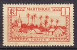 Martinique 1933 Mi. 126     1 C Basse-Pointe MH* - Martinique (1886-1947)