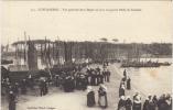 29 CONCARNEAU   Vue Generale De La Digue Un Jour De Grande Peche De Sardines - Concarneau