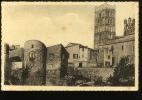 Pyrénées Orientales Elne Clocher De L'église Et Les Remparts COMBIER - France