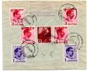 Lettre Recomandée De Pucioasa Pour Malines (Belgique) (15.11.1933) - Marcophilie
