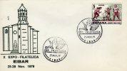 ESPANA  EIBAR  Pelota Vasca  25/11/79 - Stamps
