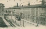 CPA 51 : CHALONS Hopital Avec Tramway Et Pub  AMER PICON     A   VOIR  !!!! - Châlons-sur-Marne