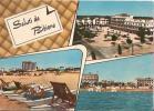 LIDO DI BIBIONE ( VENEZIA ) SALUTI - VEDUTINE - ACQUERELLATA - 1965 - Venezia (Venice)
