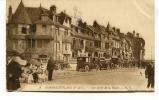 """Ancienne Cp """" Hardelot-Plage, Une Partie De La Digue (animée)  """"  Avec Cachet Militaire 1916 - France"""