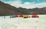 Athabaska Glacier - Rocheuses Canada Rockies - Snowmobiles - Icefields - Non Circulée - État TB - Cartes Postales