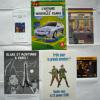 LOT 6 Documents JACOBS BLAKE ET MORTIMER / BD-PUBS, EX LIBRIS, CD-ROM, TRACTS ... - Objets Publicitaires