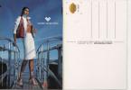 Cit001 Freecard Promozionale Citrus 850   Mario Valentino   Sexy Girl, Ragazza, Modella, Model, Mode, Fashion, Moda - Moda