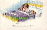 CPA ILLUSTRATEUR DESSIN ENFANT ENFANTS ** E. FRANK S W S B  ** ARTIST SIGNED DRAWN CARD CHILD CHILDREN - Enfants
