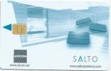 Llave Clef Hotelkarte Key Keycard HOTEL  Salto With Chip - Hotel Labels