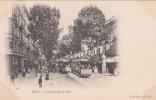 NICE - L Avenue De La Gare  (trés Animée Et Tramways) - Nice