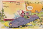 AMERICAN COMIC CARD - MOTORING - Comics