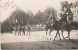DUSSERLDOF (ALLEMAGNE) CARTE PHOTO AVEC MILITAIRES 1921 - Duesseldorf