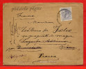 ESPAGNE LETTRE DE 1885 POUR AVIGNON FRANCE - 1875-1882 Regno: Alfonso XII