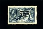 IRELAND/EIRE - 1925  SEAHORSES NARROW  DATE  10 S.  MINT LIGHTLY HINGED - 1922-37 Stato Libero D'Irlanda