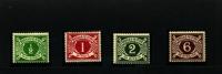 IRELAND/EIRE - 1925  DUES  SE WMK   SET   MINT NH - Segnatasse