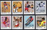 25-4-1972, Pologne Jeux Olympiques De Munich, YT No. 1995 - 2002,  Neuf **, Lot 33382 - Ete 1972: Munich