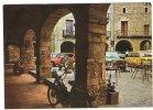 Espagne BESALU - Garrotxa - Soportales De La Plaza Mayor - Terrasse Café Mobylette VESPA R5 SIMCA - Gerona