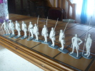 Lot De Figurines Marque ,mokareck,historex,preiser. - Small Figures